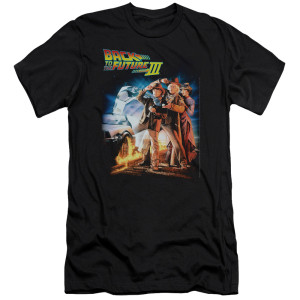Back To The Future III Poster T-Shirt