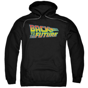 Back To The Future Logo Pullover Hoodie