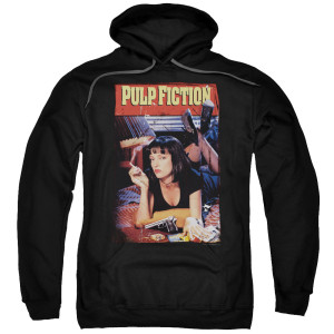 Pulp Fiction Poster Pullover Hoodie
