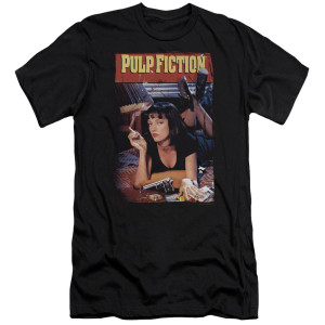 Pulp Fiction Poster T-Shirt (Black)