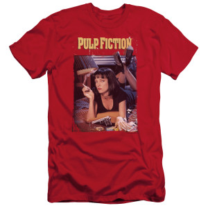 Pulp Fiction Poster T-Shirt (Red)