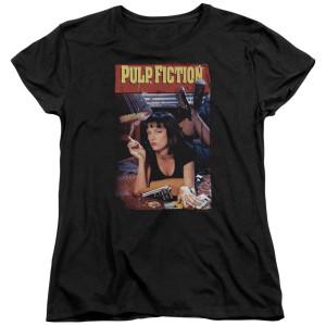 Pulp Fiction Poster Women's T-Shirt