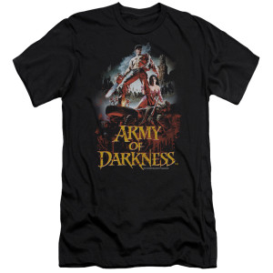 Army Of Darkness Bloody Poster T-Shirt