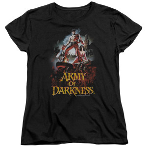 Army Of Darkness Bloody Poster Women's T-Shirt