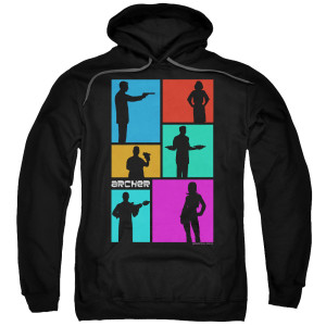 Archer Color Block Pullover Hoodie