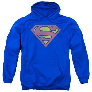 Superman Retro Logo Pullover Hoodie
