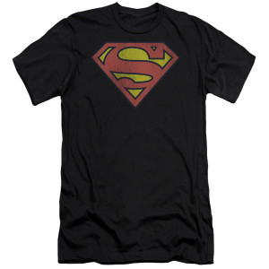 Superman Retro Logo T-Shirt (Black)