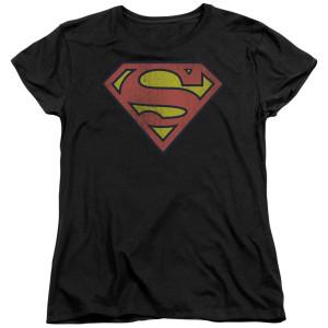 Superman Retro Logo Women's T-Shirt