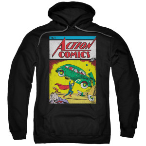 Superman Action No. 1 Pullover Hoodie