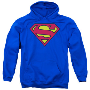 Superman Classic Logo Pullover Hoodie