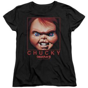 Child's Play Chucky Squared Women's T-Shirt