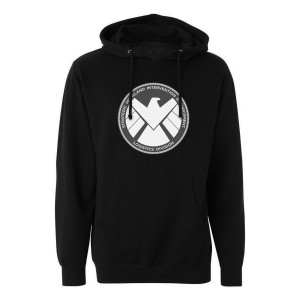 Marvel's Agents of S.H.I.E.L.D Grey Badge Pullover Hoodie