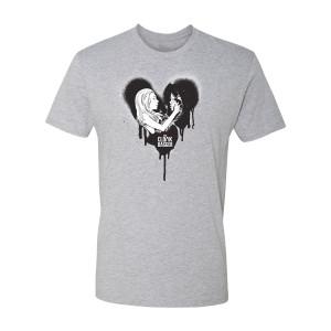 Marvel's Cloak & Dagger Grafitti Heart T-Shirt