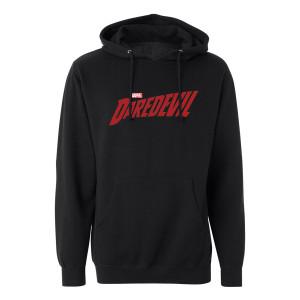 Marvel's Daredevil Distressed Logo Hoodie (Black)