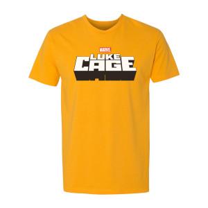 Marvel's Luke Cage Logo T-Shirt (Gold)