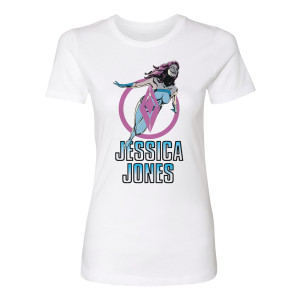Marvel's Jessica Jones Flying Women's T-Shirt