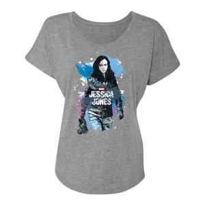 Marvel's Jessica Jones In The City Women's T-Shirt