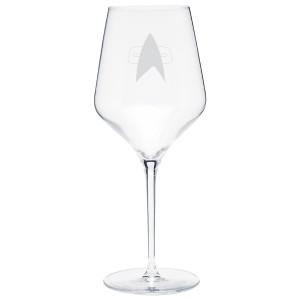 Star Trek Voyager Delta Prism Wine Glass