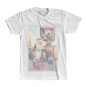 The Sisterhood Distressed White Tour T-shirt