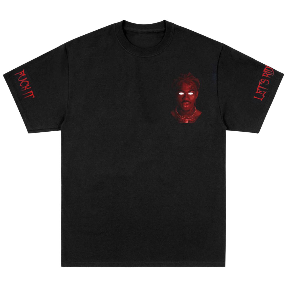 Let's Ride Black T-Shirt