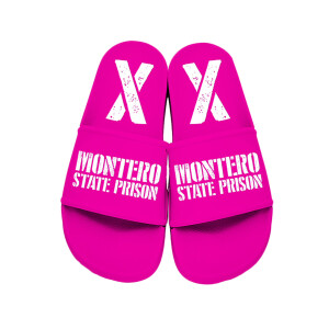 Industry Baby Hot Pink Slides