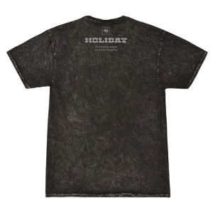HOLIDAY Acid Wash Tee