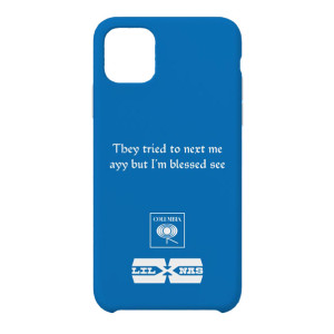 HOLIDAY Blue Phone Case