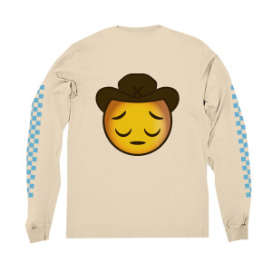 Sad Cowboy Long-Sleeve Tee