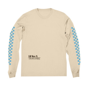 Sad Cowboy Emoji Long-Sleeve Tee + 7 EP Digital Download
