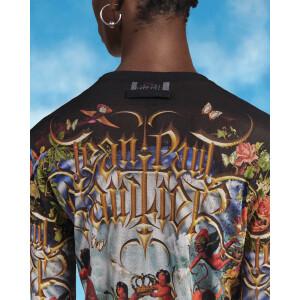 Jean Paul Gaultier x Lil Nas X Print Top