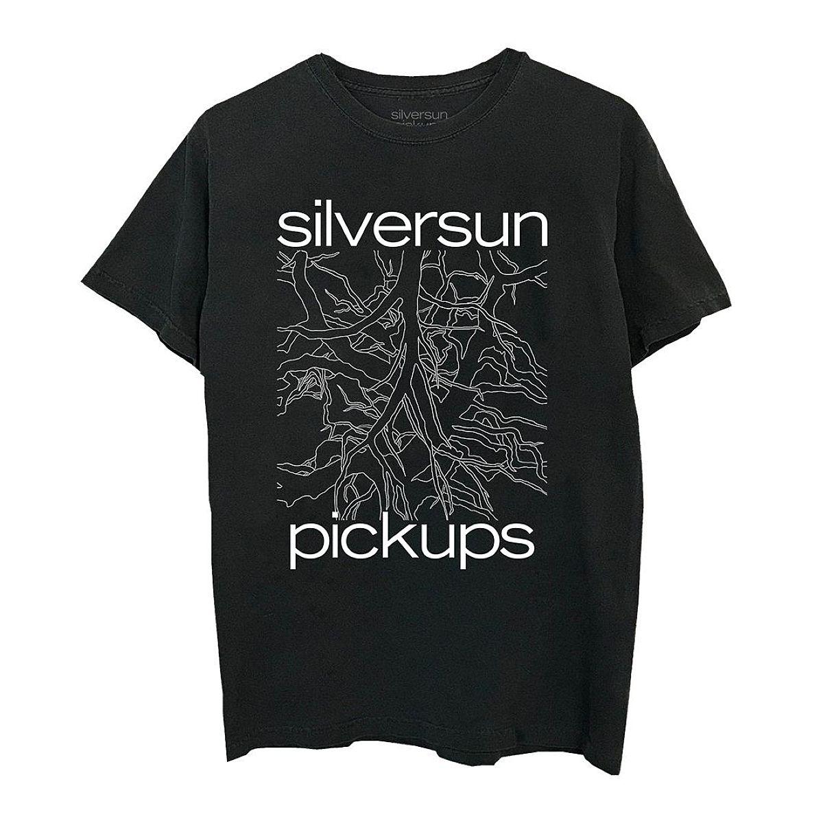 Silversun Pickups Widow's Weeds Black T-Shirt