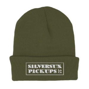 Green SSPU Logo Beanie-LIMITED EDITION MEL KADEL DESIGN