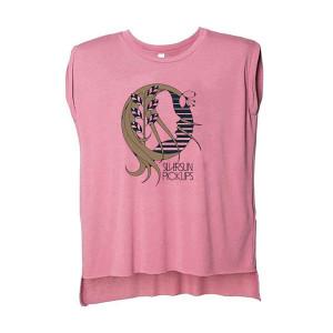 Women's Profile Pink Cutoff T Shirt