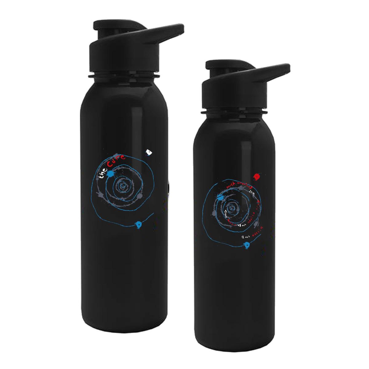 Austin Black Spiral Water Bottle