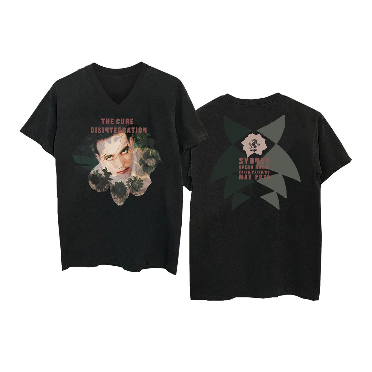 Robert Black V-Neck T-Shirt