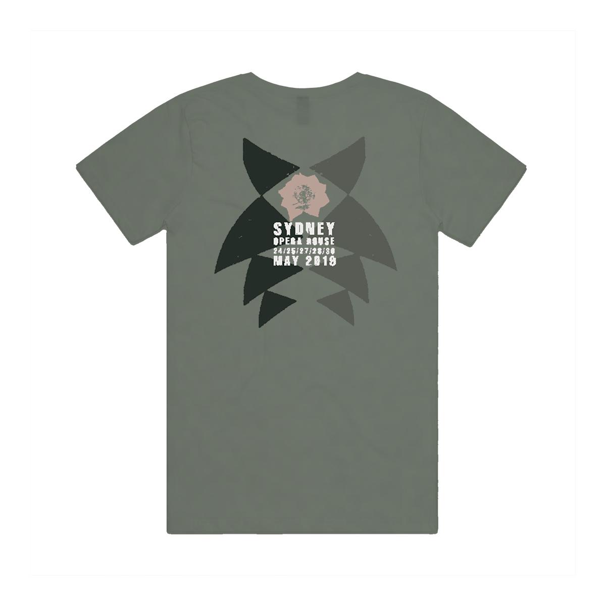 Robert Khaki V-Neck T-shirt