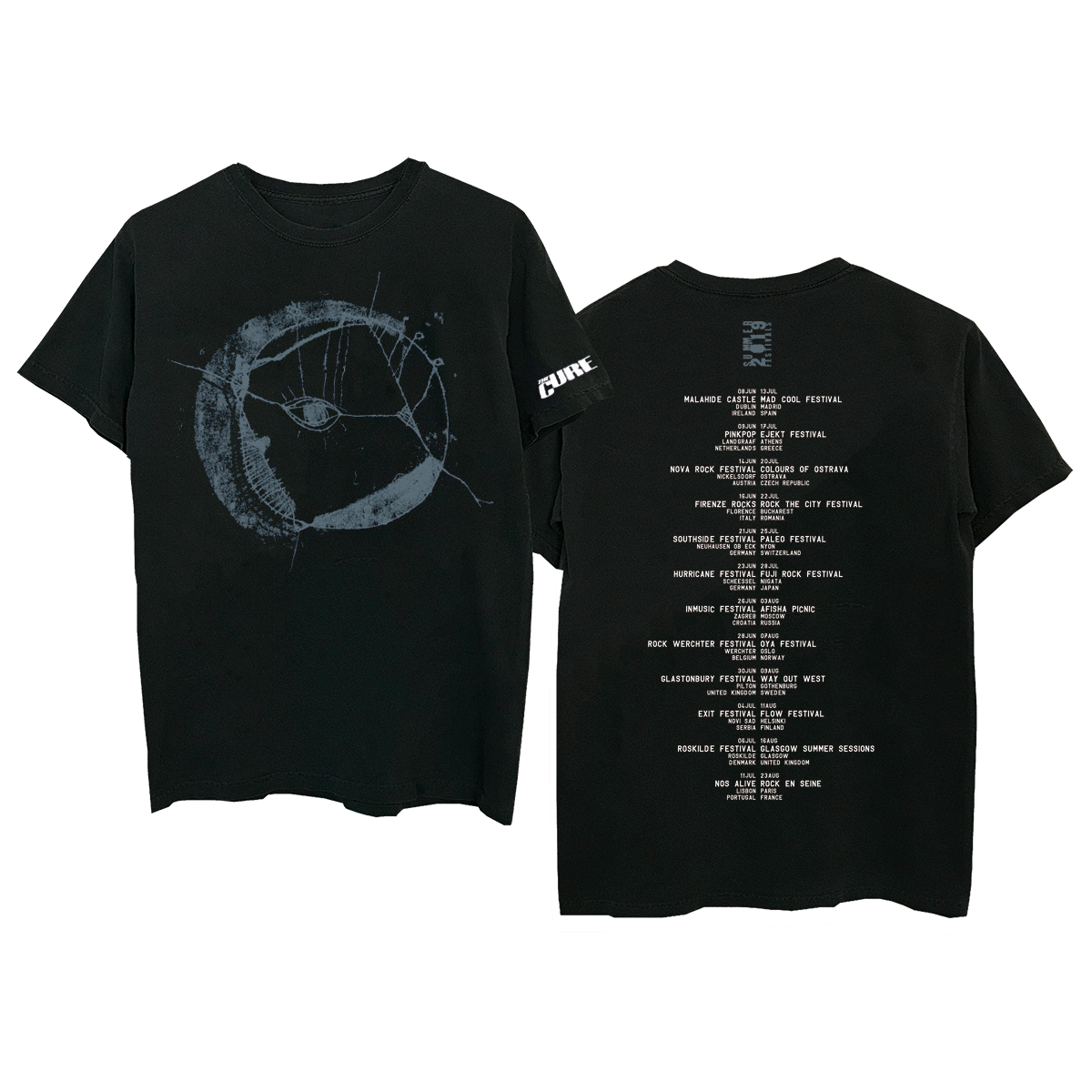 Eyemoon Black T-Shirt