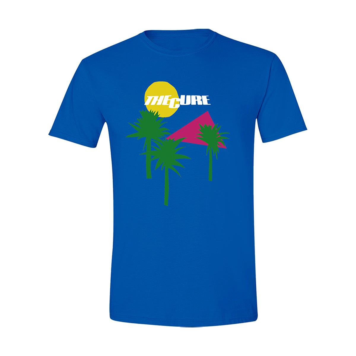 Boys Don't Cry Album Cover Blue T-shirt