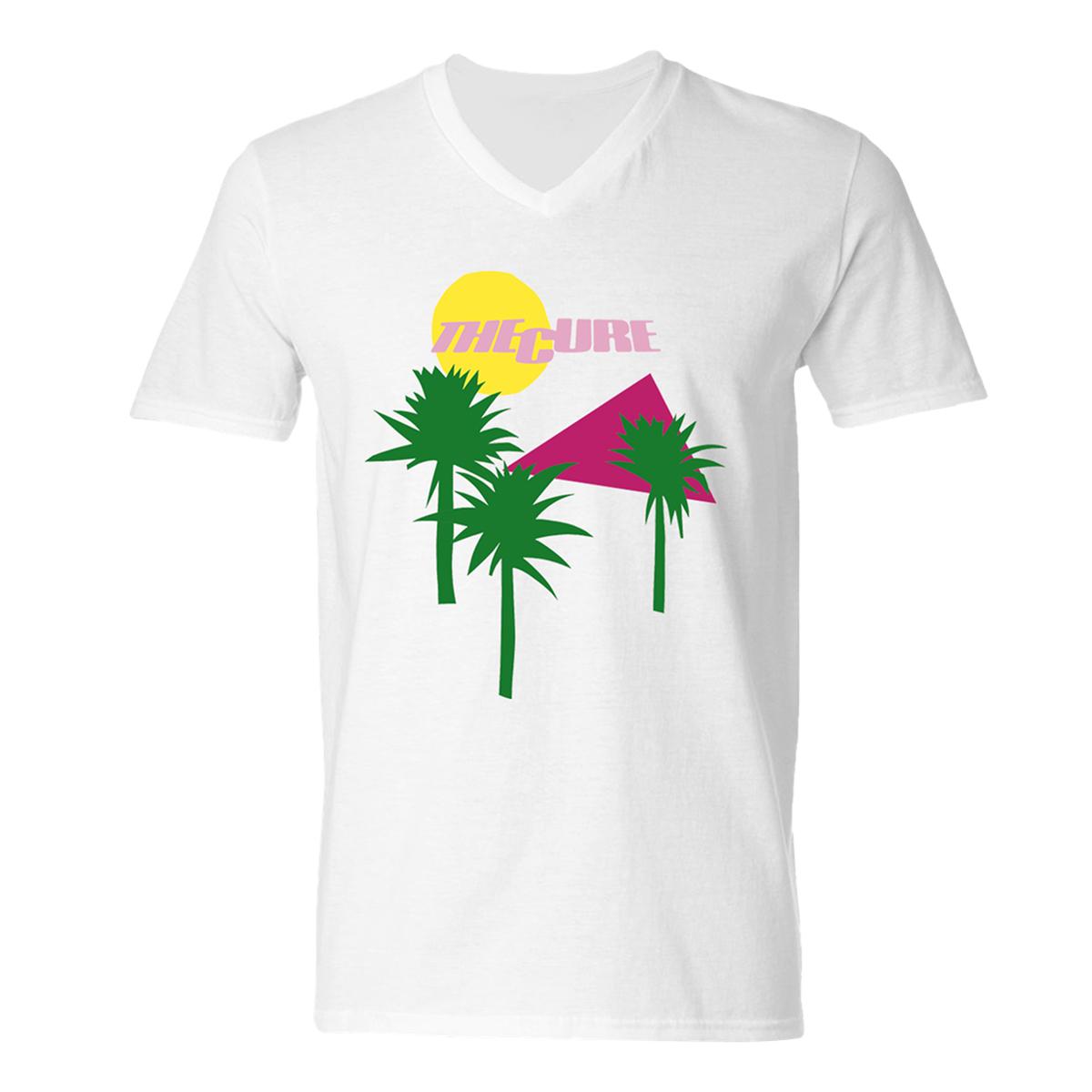 Boys Don't Cry Album Cover White V-neck T-shirt