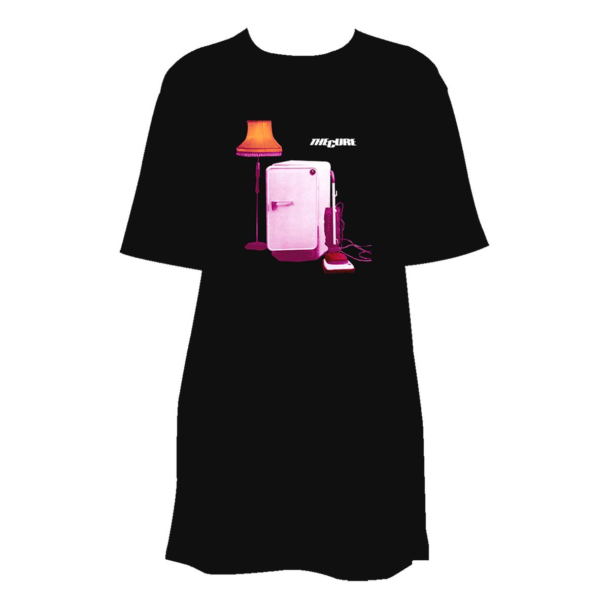 TIB Album Cover Black T-shirt Dress