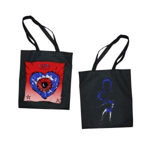 Friday I'm in Love Black Tote Bag