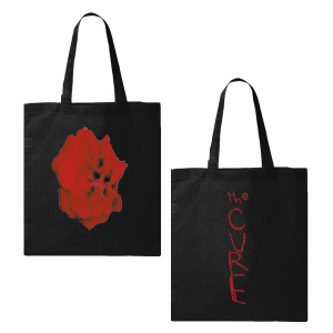 Bloodflowers Black Tote Bag