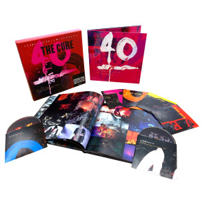 40 Live Curaetion 25 + Anniversary Deluxe Limited Edition Box Set 2 DVD/4 CD