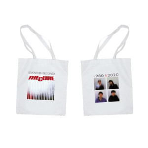 17 Seconds White Tote Bag
