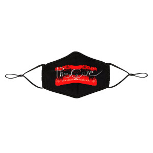 The Cure Logo Kiss Me Adjustable Face Mask