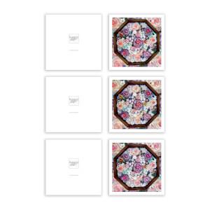 Multi Color Valentine Greeting Card Bundle