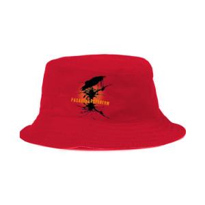 Pasadena Daydream Red Bucket Hat