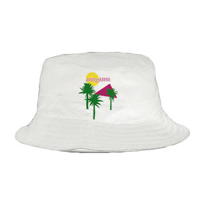 Boys Don't Cry Album Cover White Bucket Hat
