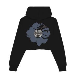 Crop Pullover Hood