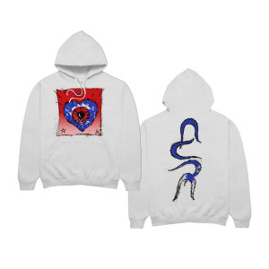 Friday I'm in Love White Hoodie